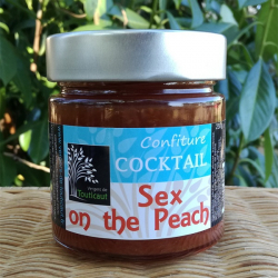 Confiture sex on the peach 250 grs